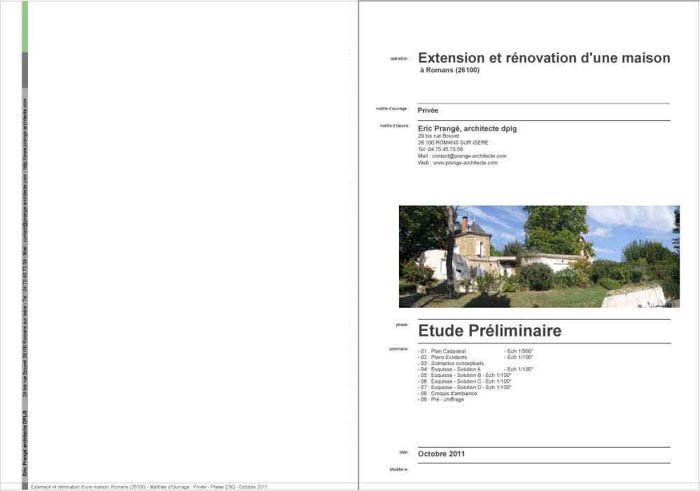 Travailler Ensemble Eric Prange Architecte