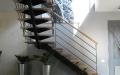 escalier metal et bois -1