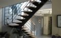 escalier metal et bois -2