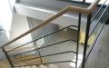 escalier metal et bois -3