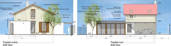 extension contemporaine et r novation d une maison des ann es 30 villeurbanne 69 eric. Black Bedroom Furniture Sets. Home Design Ideas